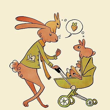 Incorrigibly Fatherly Rabbit by vainglory