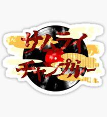 Champloo Sticker