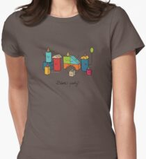 Block party Women's Fitted T-Shirt