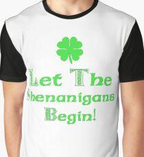 St Patrick's Day Shenanigans Irish Graphic T-Shirt