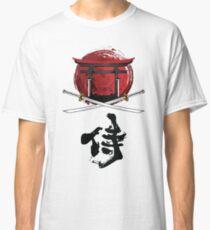 Samurai Katana Tori gate Kanji Classic T-Shirt