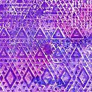 Purple Pyramiding by Wealie