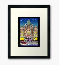 The Arcade in Color Framed Print