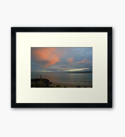 Ballard Down from Sandbanks Framed Print