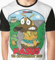 Nasus the cowardly dog! Graphic T-Shirt