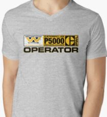 Powerloader Operator Men's V-Neck T-Shirt