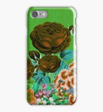 Beautiful Earth Tone Floral Abstract  iPhone Case/Skin