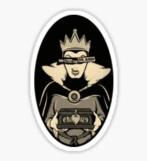 God Save The Evil Queen Sticker