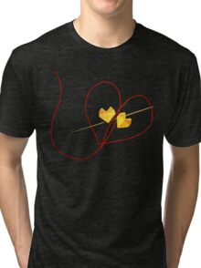 Red String of Fate Tri-blend T-Shirt