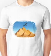Pyramid  Egypt travel template T-Shirt