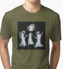 Walking the Ghosts Tri-blend T-Shirt