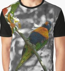 Rainbow Lorikeet Graphic T-Shirt