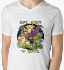 Natewantstobattle Men's V-Neck T-Shirt