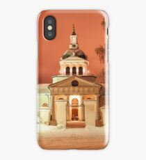 The Church of the Eerie Red Skies iPhone Case/Skin
