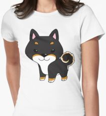 BT Shiba Inu Tailliertes T-Shirt