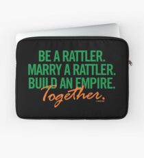 Marry a Rattler Collection by Graphic Snob® Laptop Sleeve