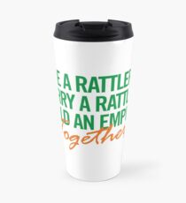 Marry a Rattler Collection by Graphic Snob® Travel Mug