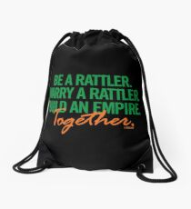 Marry a Rattler Collection by Graphic Snob® Drawstring Bag