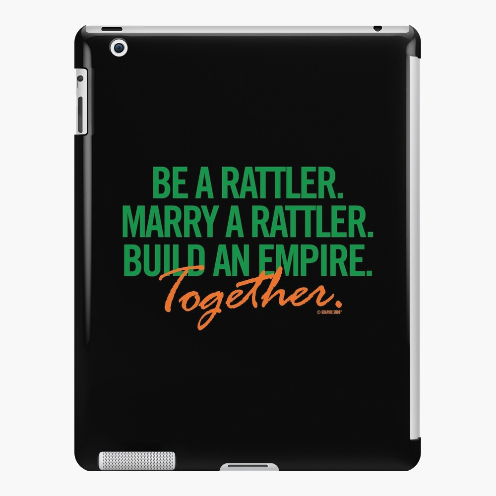 Marry a Rattler Collection by Graphic Snob® iPad Snap Case