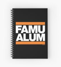 FAMU Alum Collection by Graphic Snob® Spiral Notebook