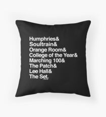 The Set Collection by Graphic Snob® Throw Pillow