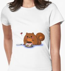 Nutella Crave Women's Fitted T-Shirt
