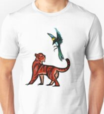 Tiger and Magpie Unisex T-Shirt
