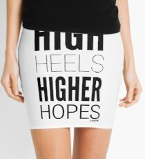 High Hopes Collection by Graphic Snob® Mini Skirt