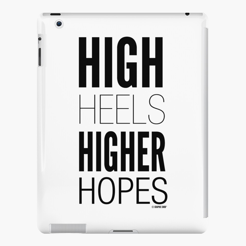 High Hopes Collection by Graphic Snob® iPad Snap Case