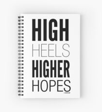 High Hopes Collection by Graphic Snob® Spiral Notebook