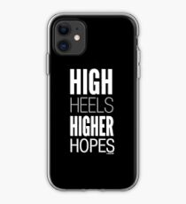 Dark High Hopes Collection by Graphic Snob® iPhone Case