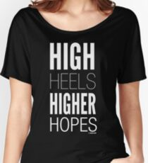 Dark High Hopes Collection by Graphic Snob® Relaxed Fit T-Shirt