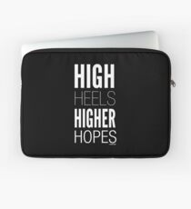 Dark High Hopes Collection by Graphic Snob® Laptop Sleeve