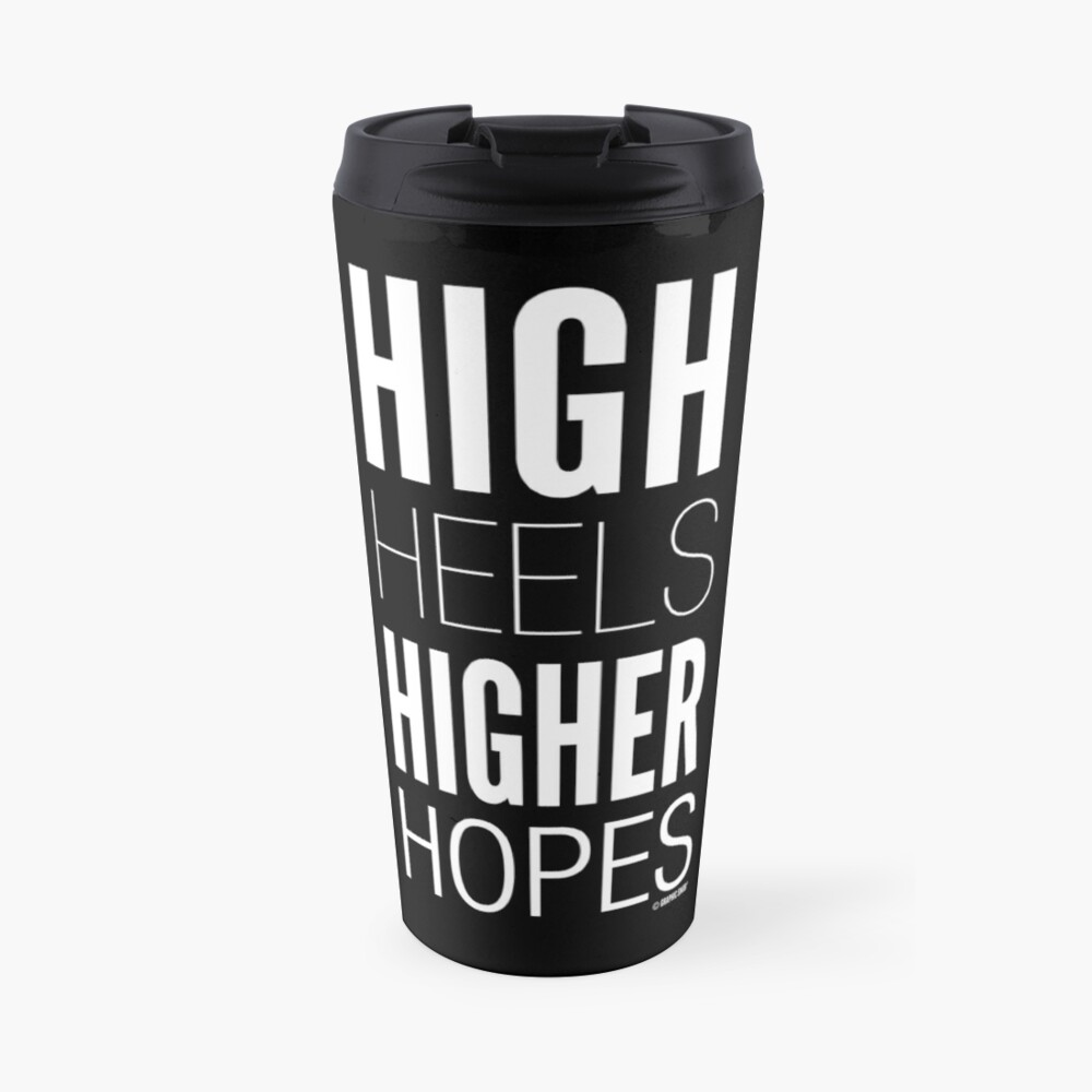 Dark High Hopes Collection by Graphic Snob® Travel Mug