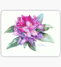 Washington Rhododendron Sticker
