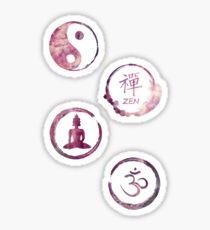 Pegatina Buddhist Meditation Sticker Pack