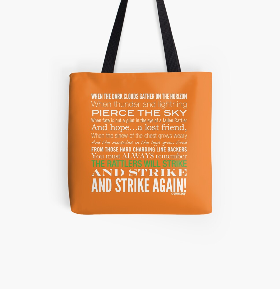 Green Strike Collection by Graphic Snob® All Over Print Tote Bag