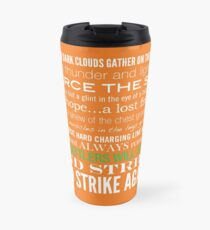 Green Strike Collection by Graphic Snob® Travel Mug