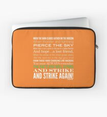 Green Strike Collection by Graphic Snob® Laptop Sleeve