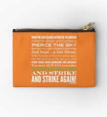 Green Strike Collection by Graphic Snob® Studio Pouch