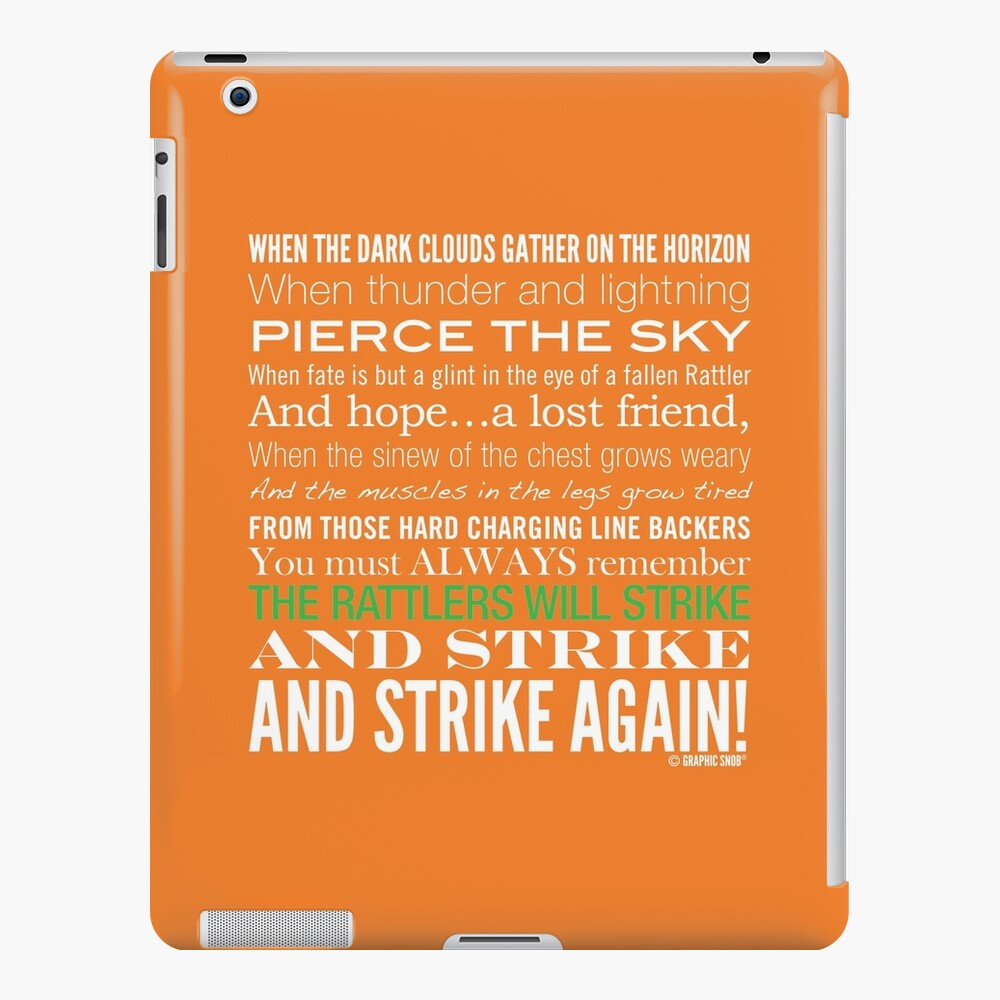 Green Strike Collection by Graphic Snob® iPad Snap Case