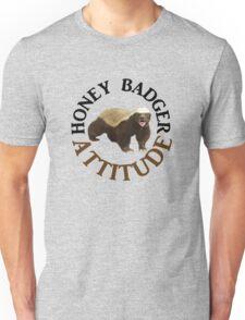 Honey Badger Attitude Unisex T-Shirt