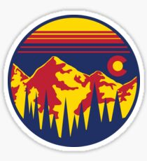 Colorado Skies Sticker