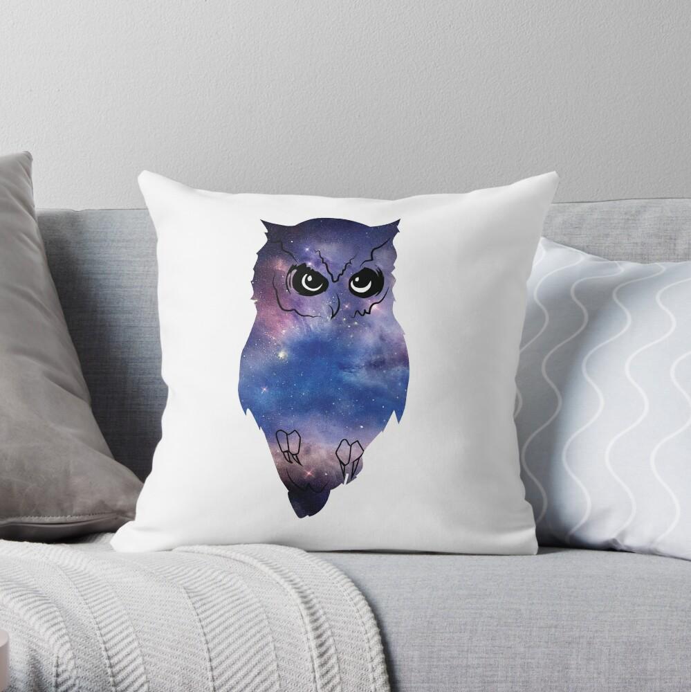 Owl - Universe Cojín