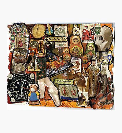Russian Souvenirs Photographic Print