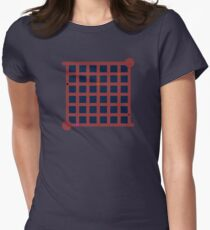 The Witness Red Ship Door Women's Fitted T-Shirt