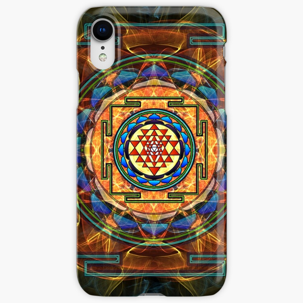 The Sri Yantra - Sacred Geometry iPhone Cases & Covers