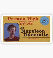 NAPOLEAN DYNAMITE Sticker