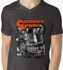 Clockwork Orange Graphic Men's V-Neck T-Shirt