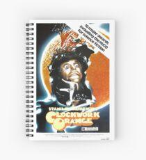 Clockwork Orange Poster Spiral Notebook